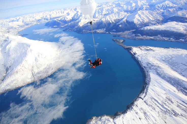 This is the epic view over Queenstown with Nzone Skydive. Snow Safari tours are officially kicking off!!
