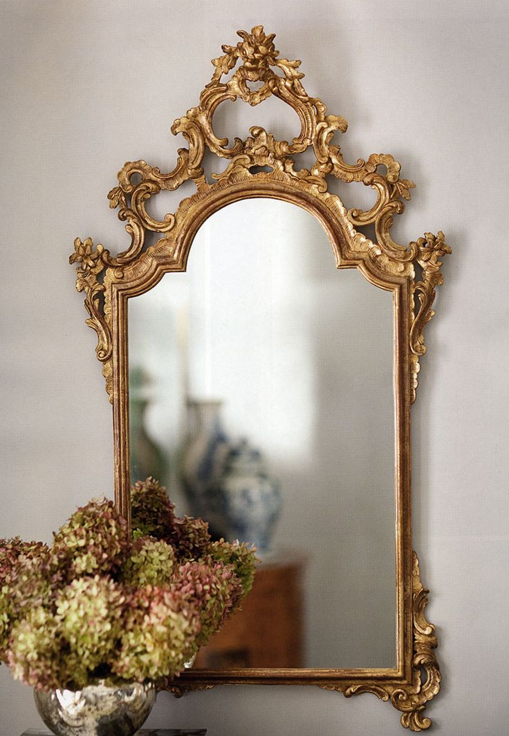 decorative gold mirrors. gorgeous hand carved 18th century Italian style mirror with floral design  and antiqued gold leaf finish Decorative MirrorsLuxury 140 best mirrors images on Pinterest