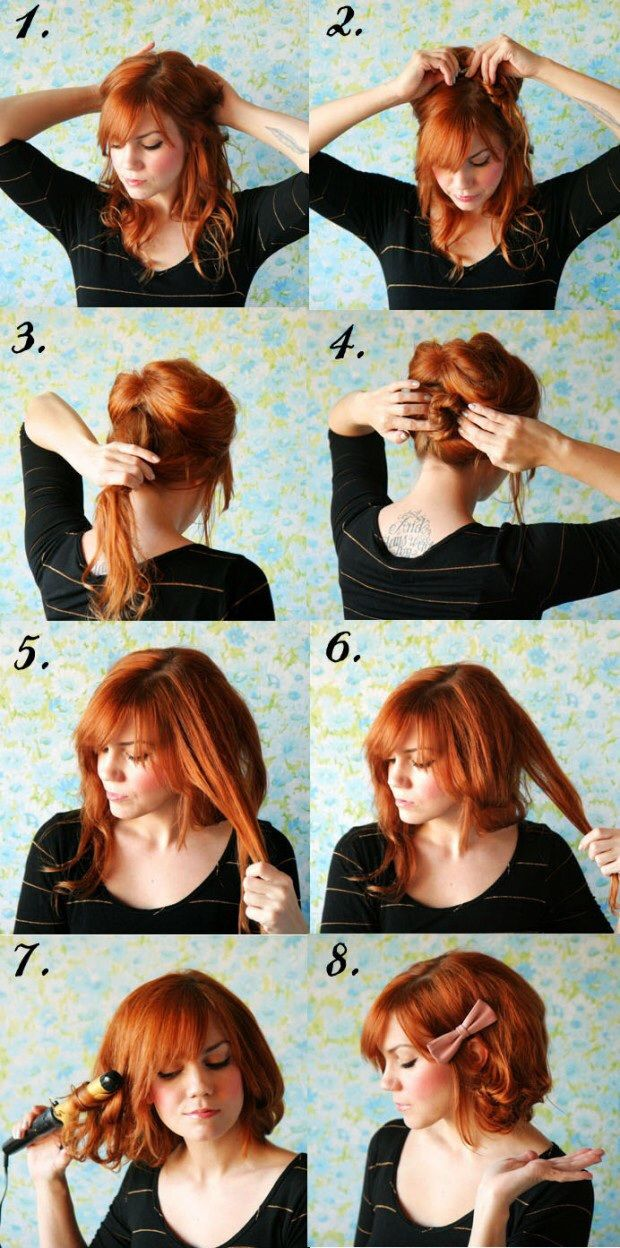 Fun Side-Up-Do~ Step-by-Step