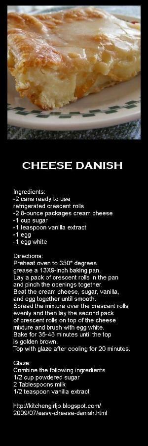 Cheese Danish by aisha