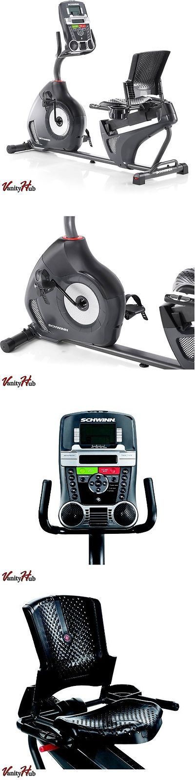 Exercise Bikes 58102: Recumbent Exercise Bike Gym Trainer Fitness Bicycle Stationary Cardio Equipment BUY IT NOW ONLY: $368.71
