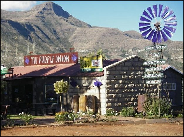The beauty of Clarens.