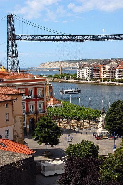 Puente Colgante, Bilbao, Spain