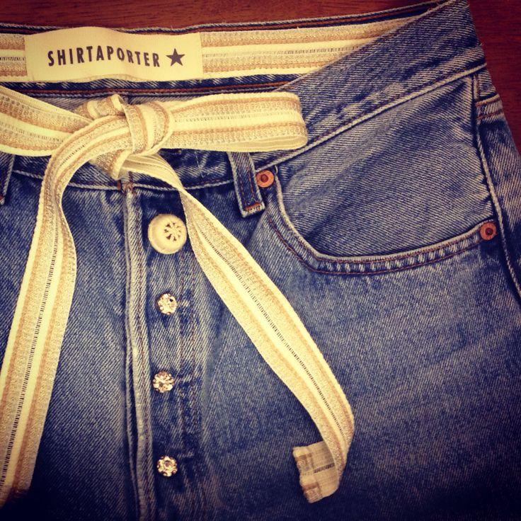 #vintage #denim #shirtaporter
