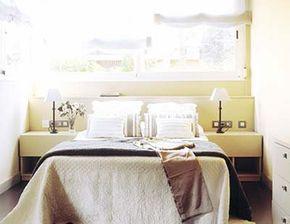 Colocar la cama debajo de la ventana