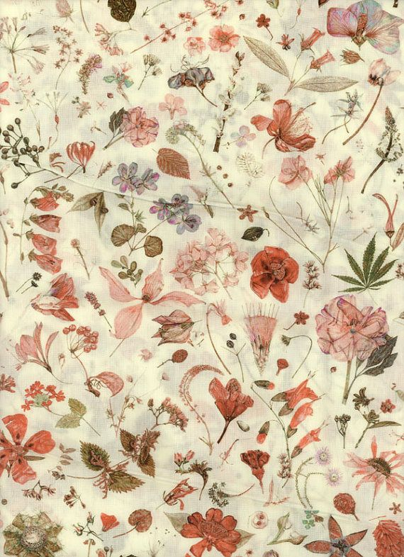 Love this style!  Liberty of London tana lawn fabric Floral Eve 6 x 26 by MissElany, $4.30