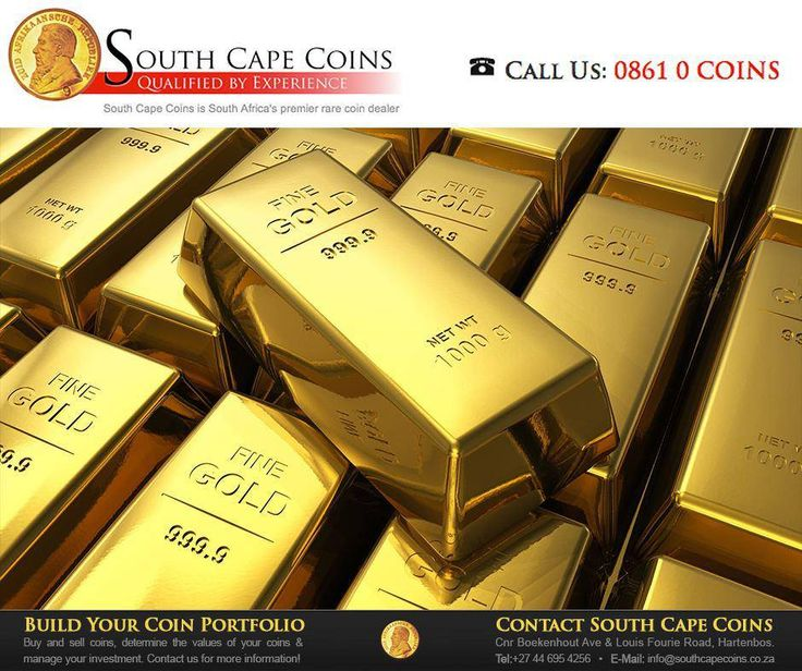 South Africa is the 5th largest producer of #gold in the world, producing 197.9 ton gold annually. This amounts to 7.02% of the world production. #FactFriday #SouthCapeCoins