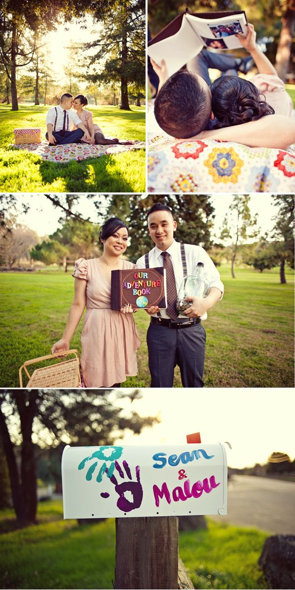 "last pin for today. i am addicted to this website, it is so fun.  i want to do this for my wedding, i love the movie ""up"" and think this would be so cute."