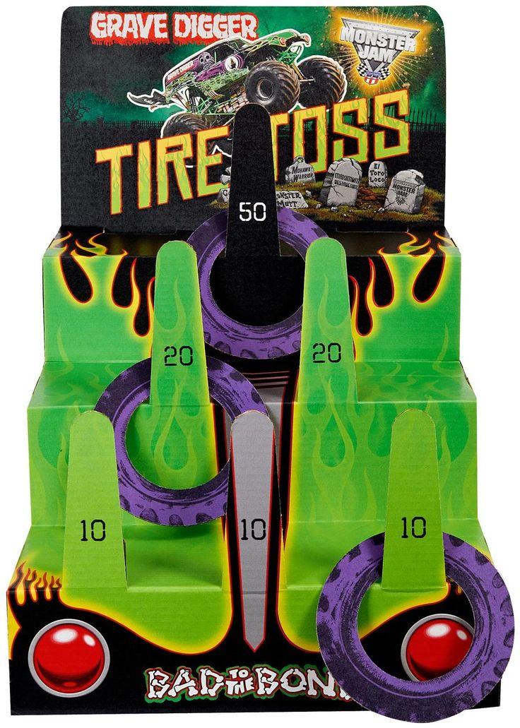 Monster Jam 3D Ring Toss Game