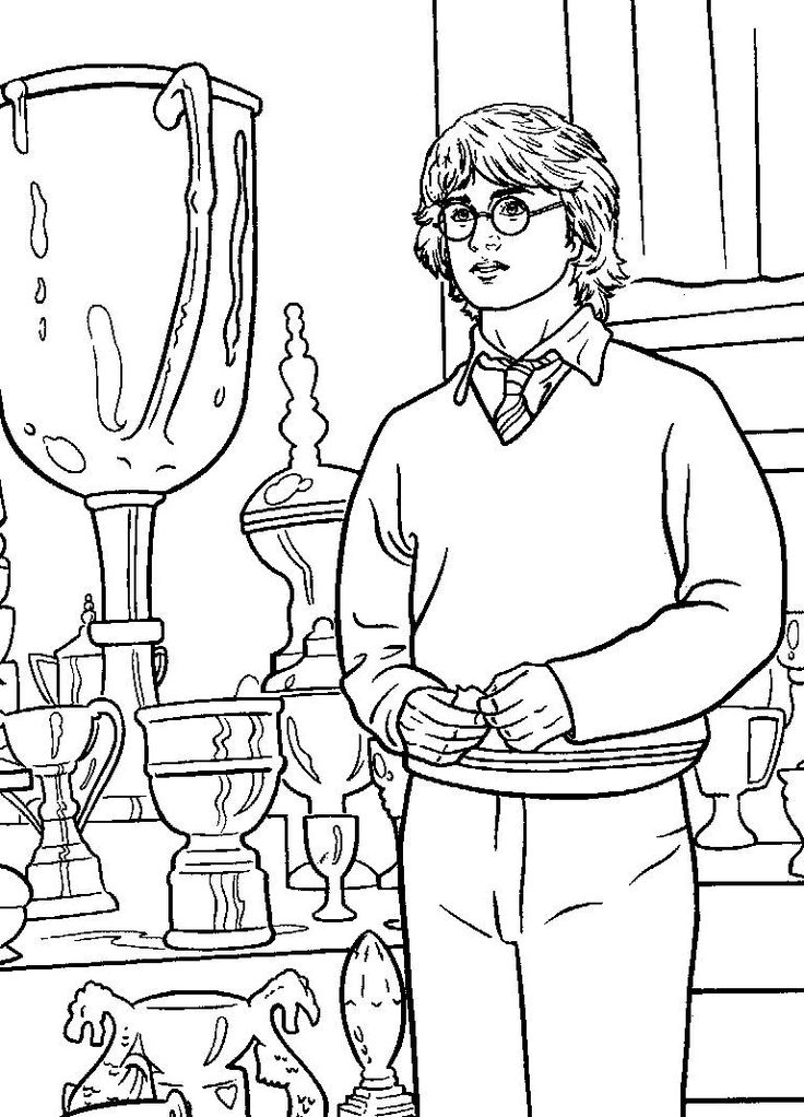 printable harry potter coloring book pages | 17 Best images about Coloring Pages on Pinterest