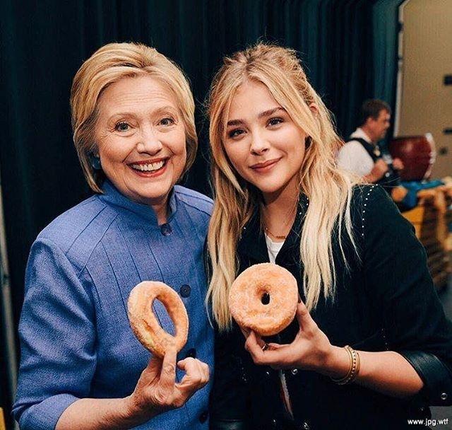 Hillary Clinton Donut