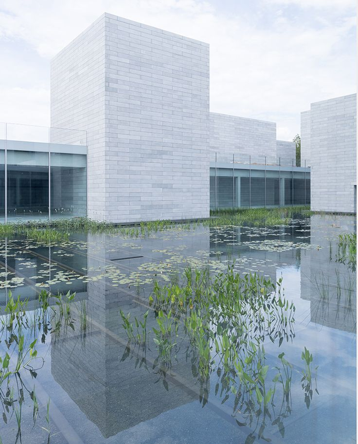 First look into the Glenstone Museum's new wing | In this age of intense stimulation overload, it's encouraging to see a museum heading in the opposite direction.Thomas Phifer and Partners' addition to the Glenstone Museum of Art, set to open late next year in Potomac, MD, just under 15 miles from Washington DC, is as much about meditation and serenity as it is about art and culture #potomac #art