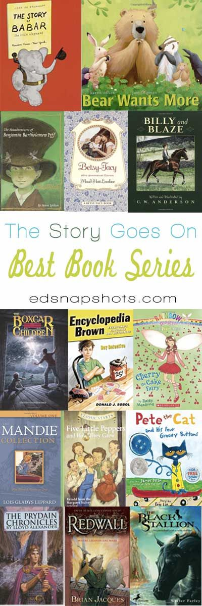 These favorite book series for kids include picture books and selections for both boys and girls. Series were chosen for their quality and appeal to kids.