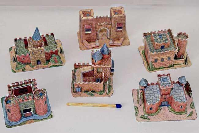 Spanish Castle Building Paper Models Free Templates Download - http://www.papercraftsquare.com/spanish-castle-building-paper-models-free-templates-download.html#BuildingPaperModel, #Castle, #Mini