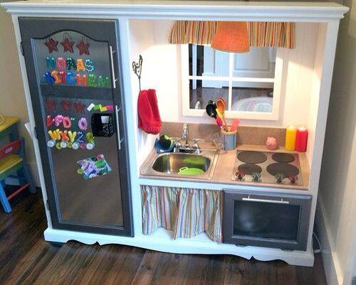 DIY- reuse those old TV stands!