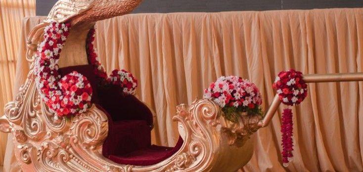 Wedding Palki Rent Service in Dhaka