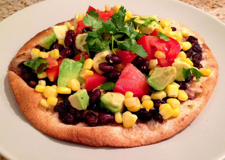 Tostadas, Black beans and Beans on Pinterest