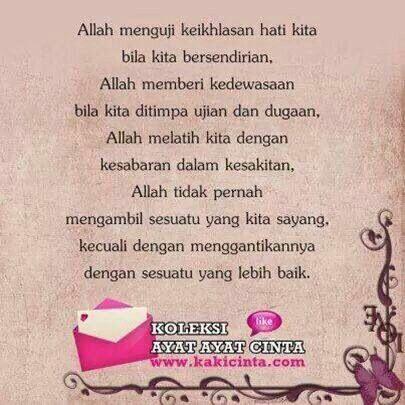 Ujian Allah :)