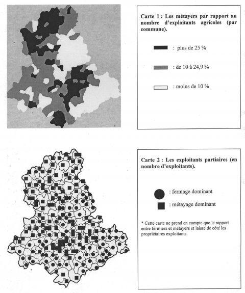 Métayage et grande propriété foncière dans le département de la Haute-Vienne: entre utopie sociale et innovation agricole (fin 19e-début 20...