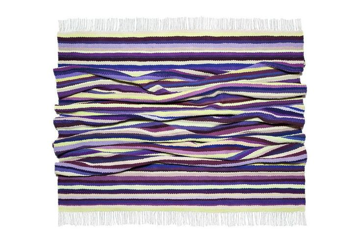 "Nature can combine colors so fine, we need just watch, inspirational beauty and harmony are everywhere. Woven carpet ""Purple dream"". Nature inspires #babynakrasunia #woven #wovencarpet #rugs #carpet #natureencourages #colors #stripes #stylishcarpet #recycle #ecofriendlyfashion #бабинакрасуня #тканадоріжка #ткацтво #килим #доріжка #природанадихає #кольори #смужка #стильнийкилим"