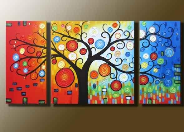 A beautiful large canvas art.
