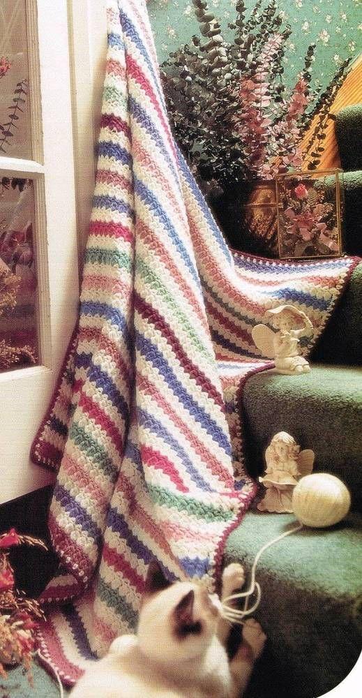 Mejores 266 imágenes de Afghan Patterns en Pinterest | Mantas ...