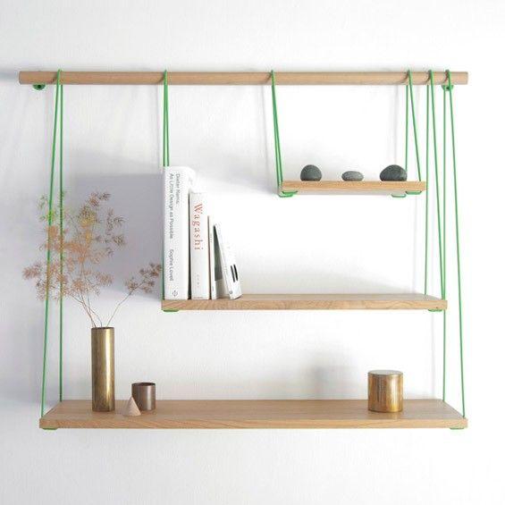 Mademoiselle Déco – Blog Déco – DIY du week-end : s'inspirer de l'étagère Bridge