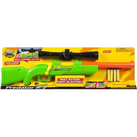 Buzz Bee Toys Air Warriors Predator Blaster, Multicolor