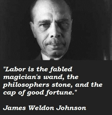 James Weldon Johnson Johnson, James Weldon - Essay