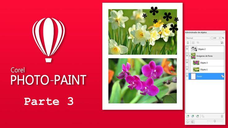 Trabajar con capas en Corel Photo-Paint – Uso del administrador de objetos