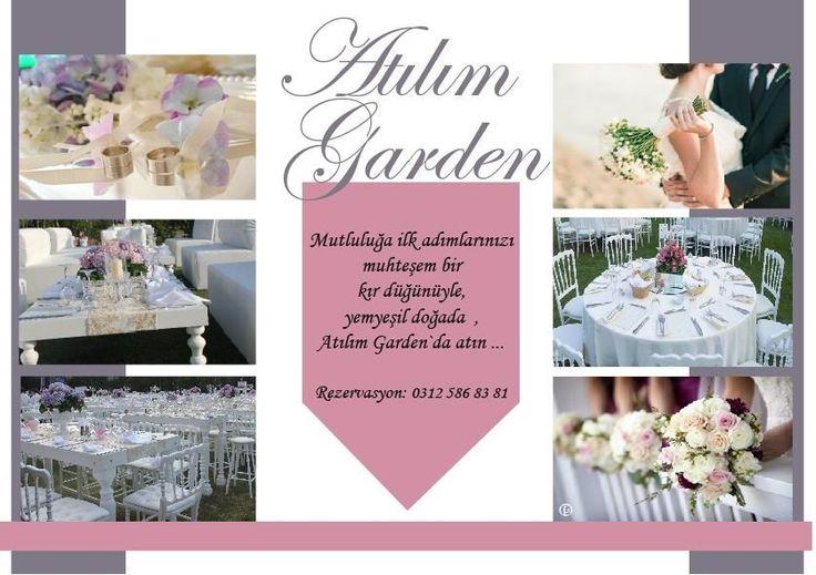Atılım Garden'da düğün