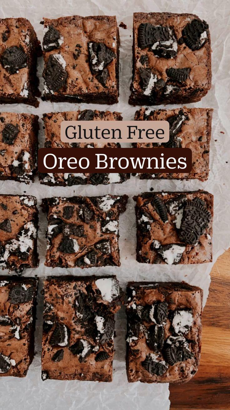 Gluten Free Treats, Gluten Free Desserts, Gluten Free Recipes, Delicious Desserts, Yummy Food, Tasty, Fun Baking Recipes, Sweet Recipes, Dessert Recipes
