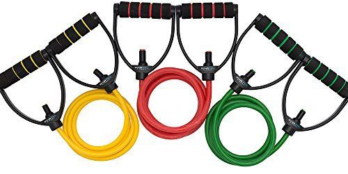 DynaPro Direct Exercise Resistance Bands - Gym Quality Fitness Bands - Perfect for any Home Fitness Training Program - Workout Abs, Arms, Legs, & Back! (Resistance Band Set of 3) - http://www.exercisejoy.com/dynapro-direct-exercise-resistance-bands-gym-quality-fitness-bands-perfect-for-any-home-fitness-training-program-workout-abs-arms-legs-back-resistance-band-set-of-3/fitness/