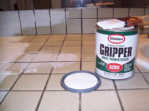 countertops more paint tile painting tiles painting tile countertops ...
