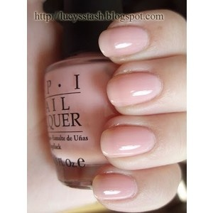OPI Passion- sheer, soft, pale pink, very natural color.