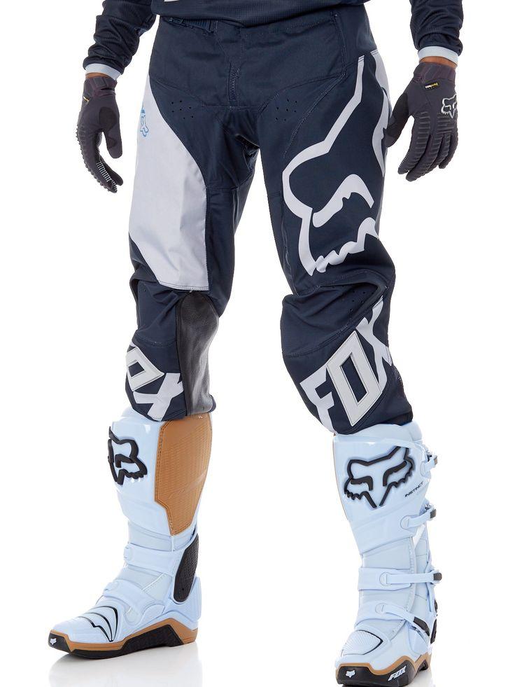 Image 0: Pantalon Motocross Fox 2018 180 Mastar Bleu Fonce