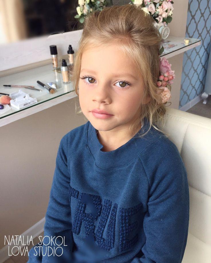 Дети, детский макияж , прически для детей