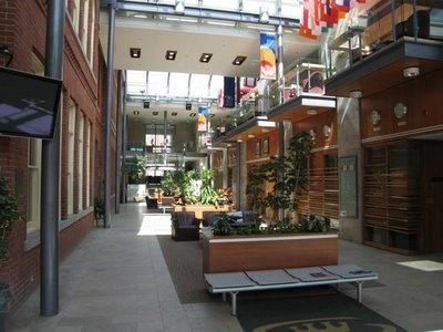 Goodes Hall Atrium