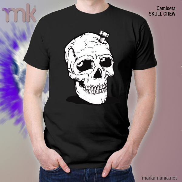 Camiseta SKULL CREW 100% algodón Disponible en tres colores. #shirts #moda #fashion #markamania #StreetFashion #lifeStyle #Culture #Barcelona #Spain #Cataluña #Life #Live #Sports #Fitness #Body #SelfLove #Camisetas #Soul #Wear #Street #BeHappy #Sudaderas #sweatshirt #TextileCustomization #PersonalizaciónTextil #Music #Música #rap #skateboard #HipHop #UrbanFashion #Smile #Badalona #SportWear #SportFashion