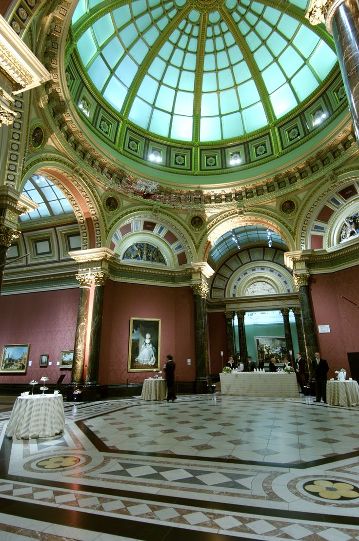 Also referred to as the Dome Room, the Barry Rooms opened in 1876 as part of the Edward Middleton Barry extensions. These rooms can suit a range of events from large scale dinners to intimate receptions.   #NationalGalleryEvents #BarryRooms #Dome #BeautifulArchitecture #EventVenue #BritishPortraits