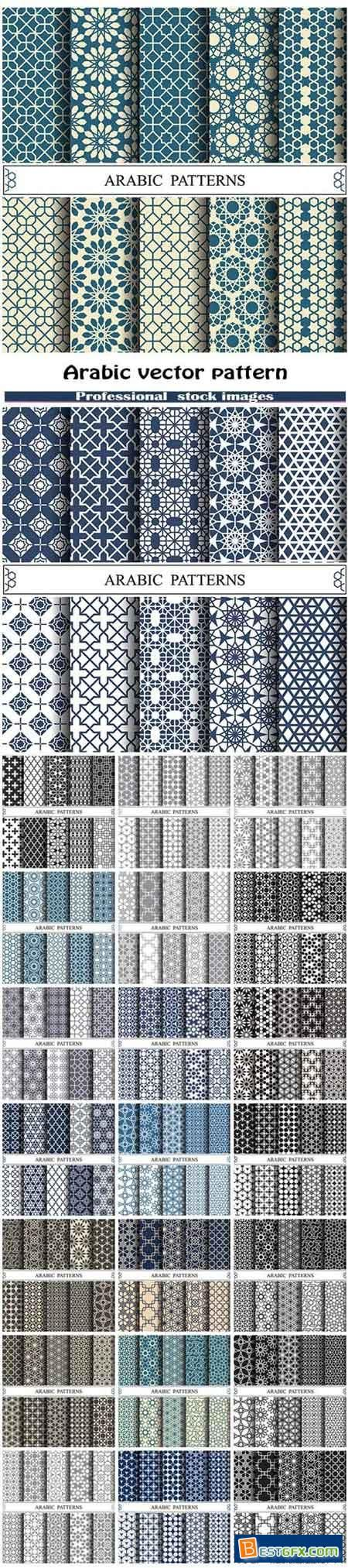 Arabic vector pattern