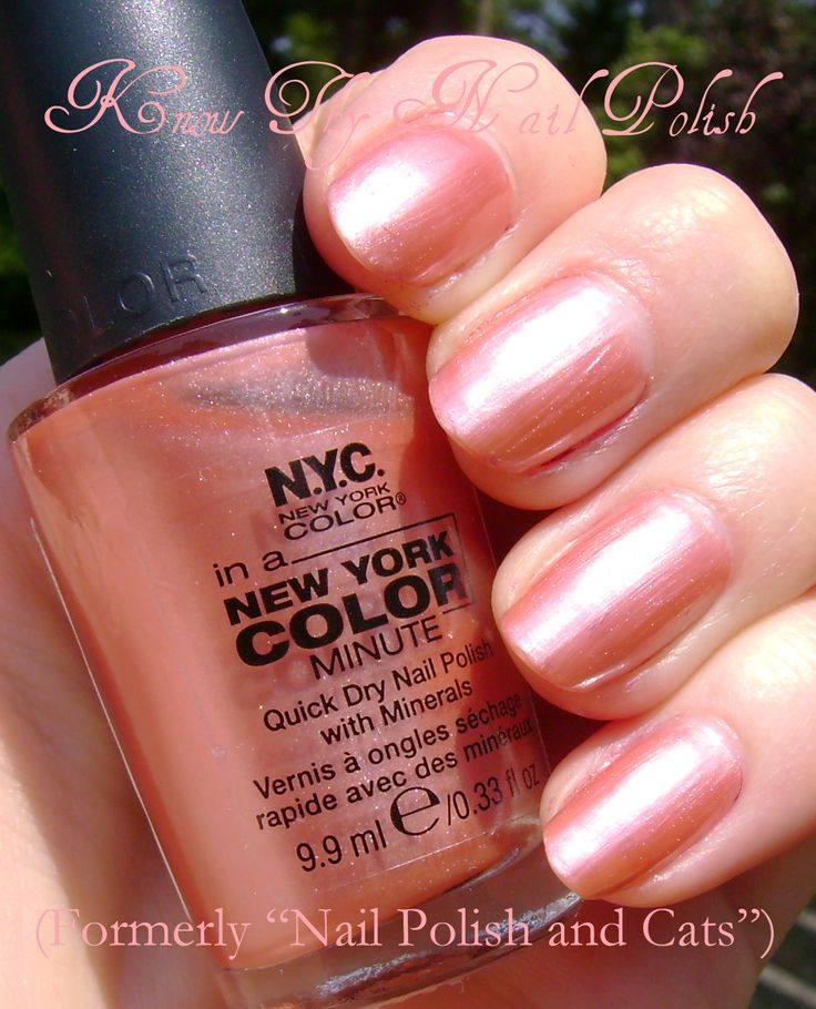 16 best NYC IN A NEW YORK COLOR MINUTE Nail Polish~~ My Personal ...
