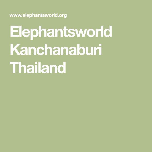 Elephantsworld Kanchanaburi Thailand