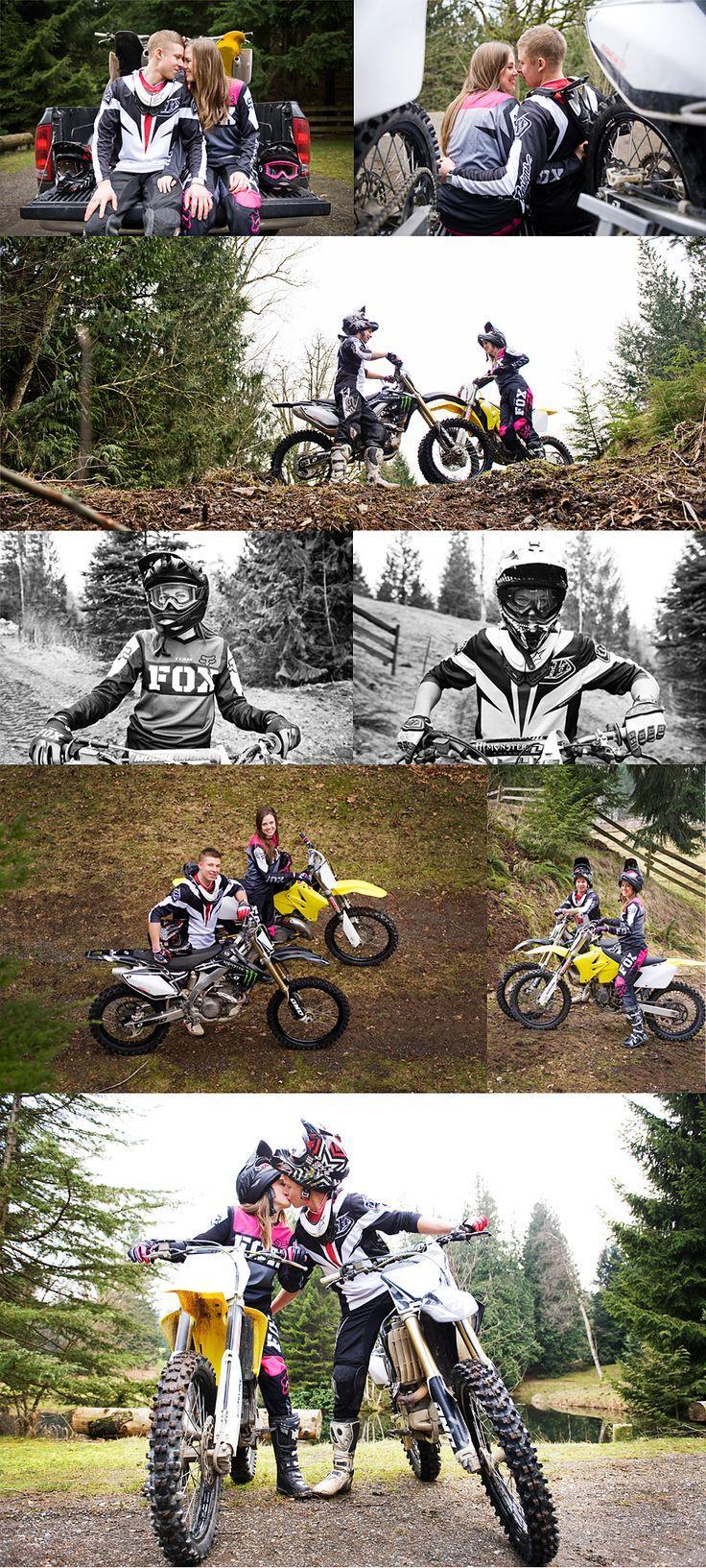 Dirt bike engagement