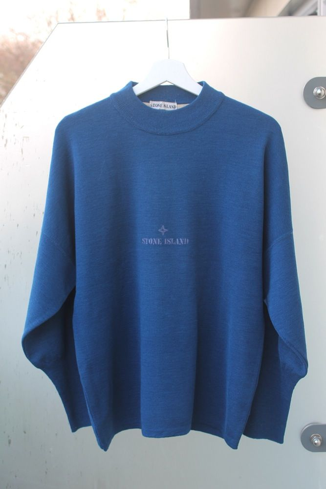 Image of A/W 1989 STONE ISLAND WOOL JUMPER