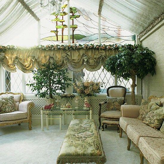 Futuristic Victorian Front Gardens 9 On Garden Design: Glass Design, Conservatory Garden