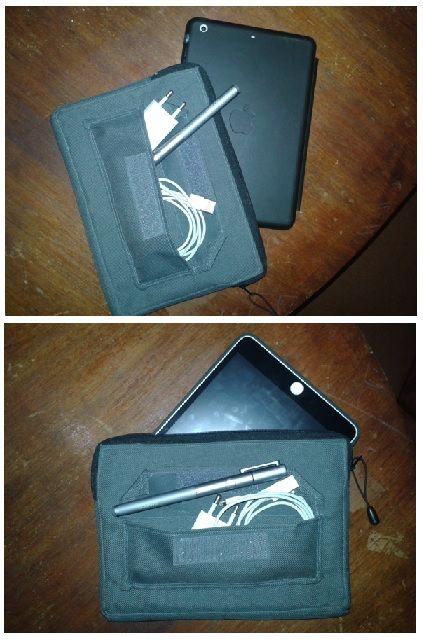 Bolso para transportar la tablet y sus implementos básicos :)