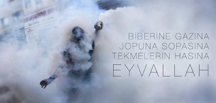 #direngezi #occupygezi #eyvallah