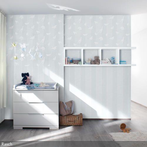 Unique Die wei e Wickelkommode im Babyzimmer ist schlicht bietet viel Stauraum und erf llt ihren Zweck