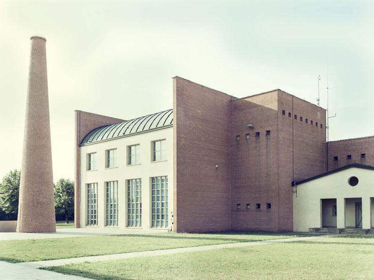 IT, Borgoricco, Municipio (Town Hall). Architect Aldo Rossi, 1990.